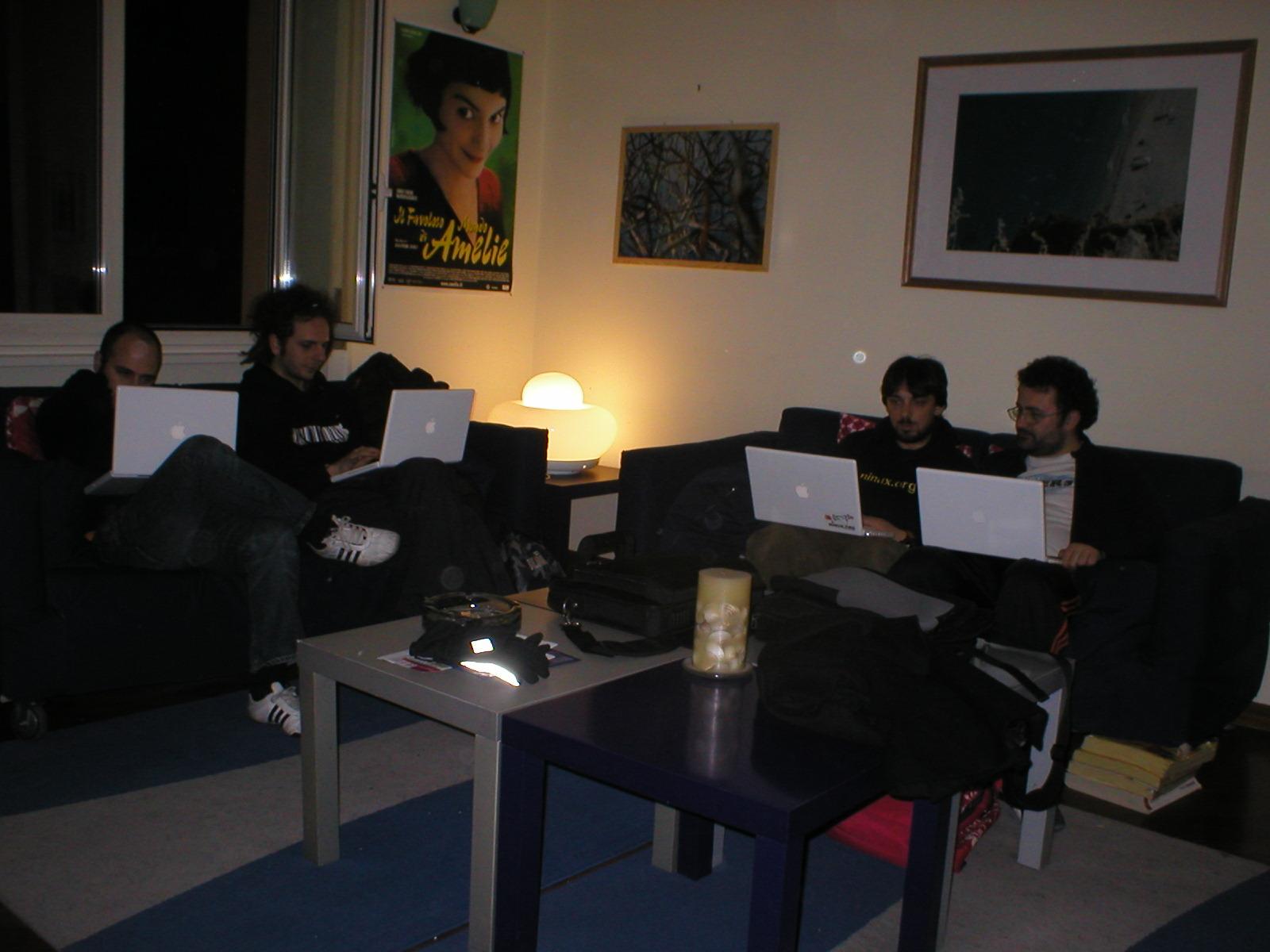 nerds in nino's house