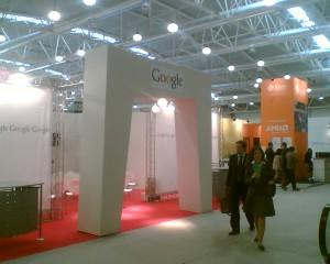 stand di google al forum della PA 2008