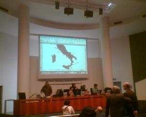 Slide con penisola italiana