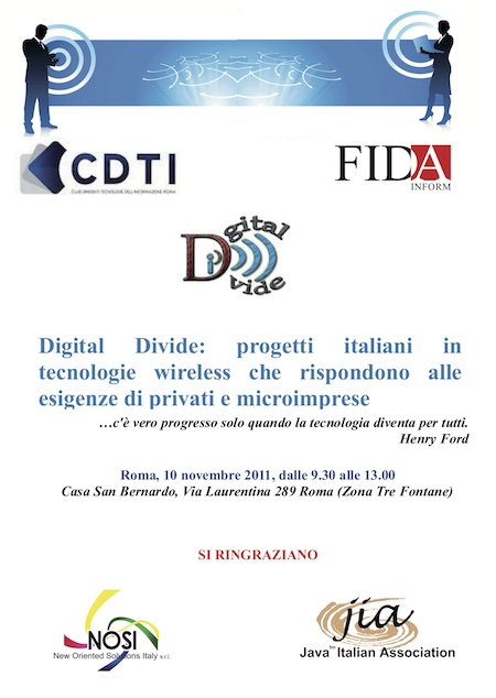 CDTI Digital Divide