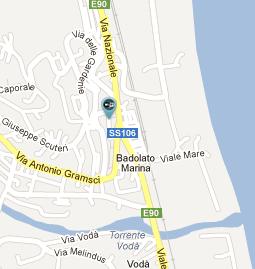 mappa hotspot Badolato Marina