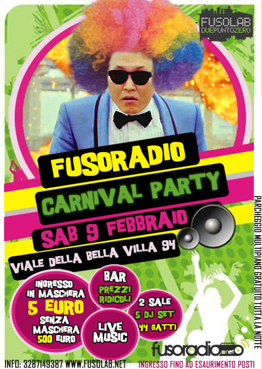 fusoradio-carnival-party