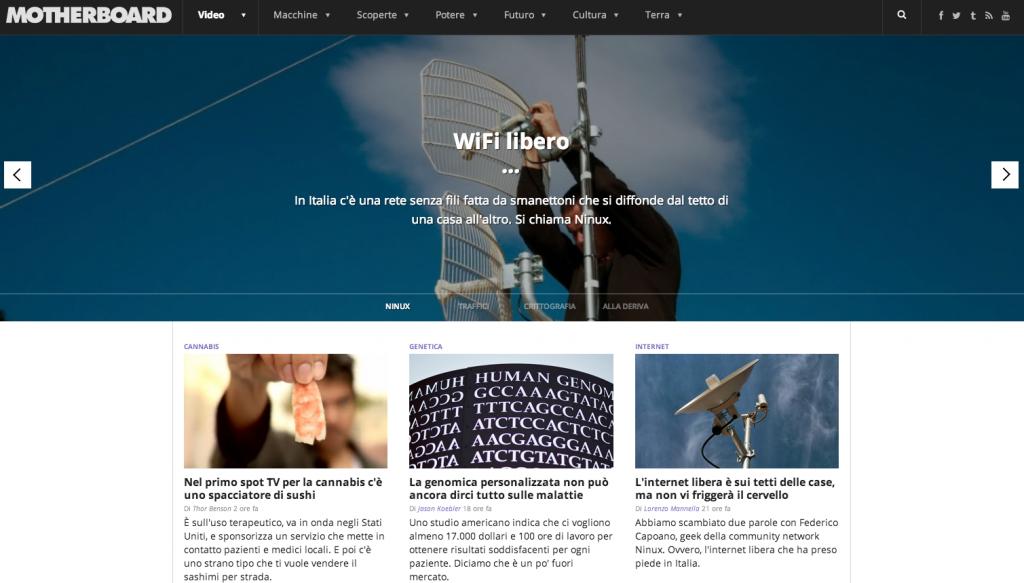 Wifi Libero - In Italia c'è una rete senza fili fatta da smanettoni ch si diffonde da tetto in tetto, si chiama Ninux.