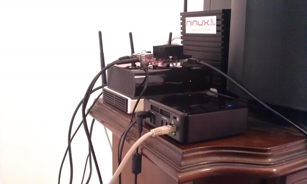 Intel NUC Research Device
