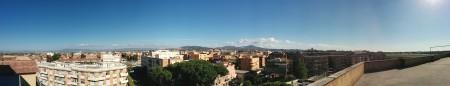 Vista verso i Castelli Romani